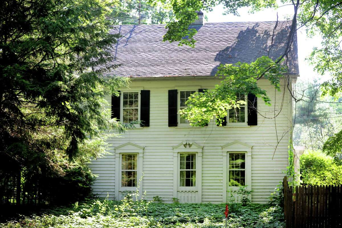 This historic home at 696 Hillside Road in Fairfield, Conn. is slated for demolition
