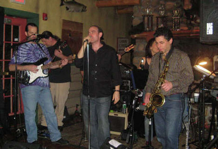 Book an appointment Friday night with the physcians who double as musicians at Bobby Q's. Photo: Contributed Photo / Westport News