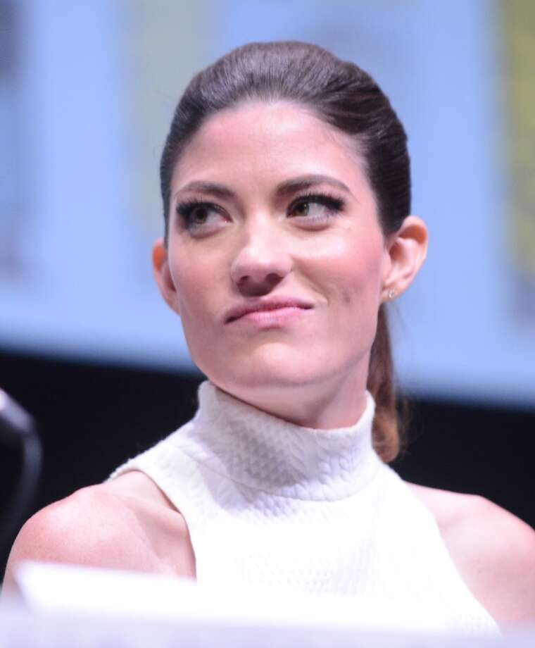 "Actress Jennifer Carpenter speaks onstage at Showtime's ""Dexter"" panel during Comic-Con International 2013 at San Diego Convention Center on July 18, 2013 in San Diego, California.  (Photo by Albert L. Ortega/Getty Images)"