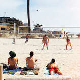 "Volleying with the pros ""Manhattan Beach is hands-down my favorite beach to play on,"" says Kerri Walsh Jennings, beach volleyball Olympic gold medalist. ""The sand is nice and deep, and the setting is beautiful."" Find her and other professional players in action at the courts near Fourth Street early in the morning. (Many people set up chairs to watch.) There's space up for grabs for beginners too, says local volleyball coach Cindy Grebliunas; public courts have nets emblazoned with ""Department of Beaches and Harbor."" Grebliunas offers 1 1⁄2-hour private classes ($50/2 people; KCBVolleyball@hotmail.com)."