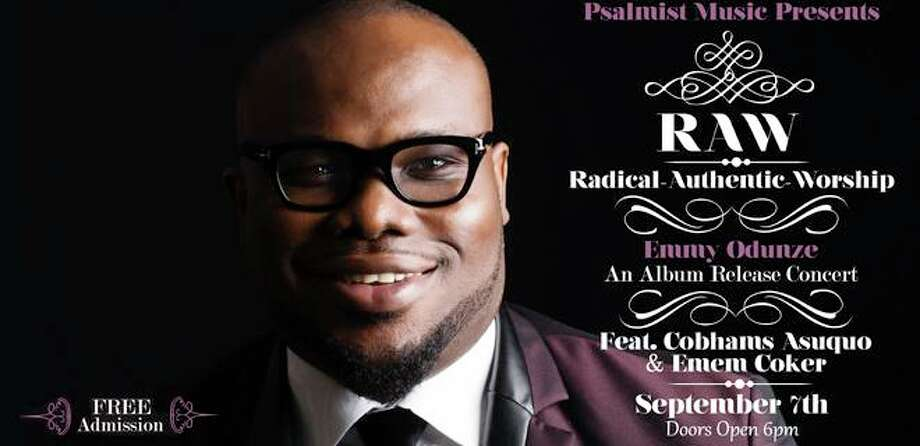 Psalmist Music presents Emmy Odunze in Radical Authentic Worship, or RAW, a live worship and album release concert, at 7 p.m. Saturday, Sept. 7, at the The Berry Center. Photo: The Berry Center