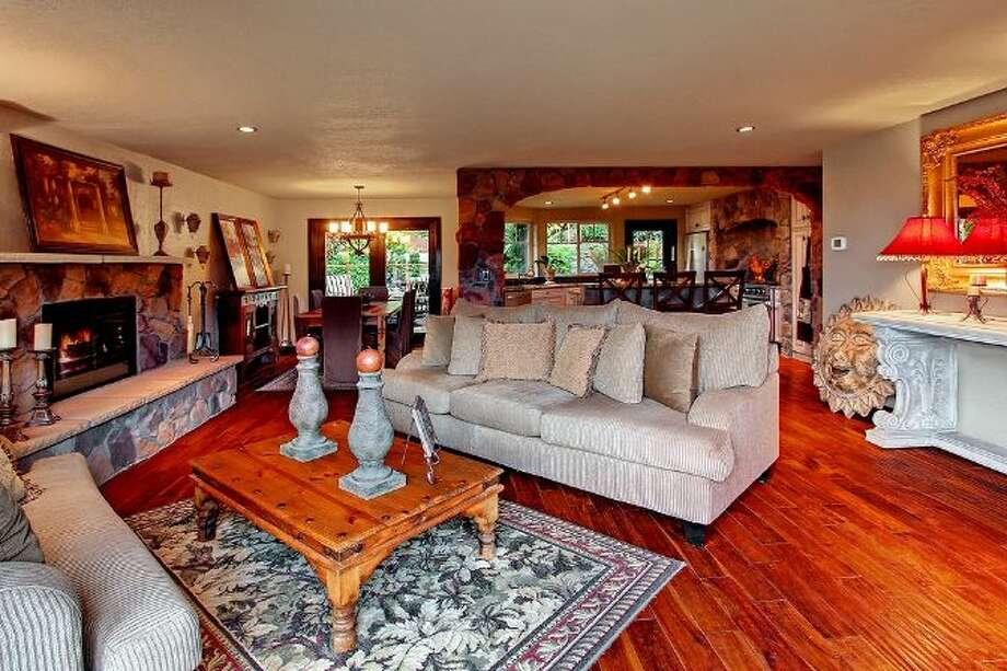 Living room of 3307 S.W. Andover St. It's listed for $1.199 million. Photo: Courtesy Adam E. Cobb, Windermere Real Estate