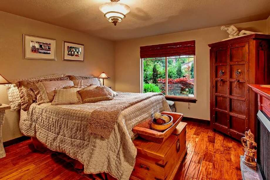 Bedroom of 3307 S.W. Andover St. It's listed for $1.199 million. Photo: Courtesy Adam E. Cobb, Windermere Real Estate