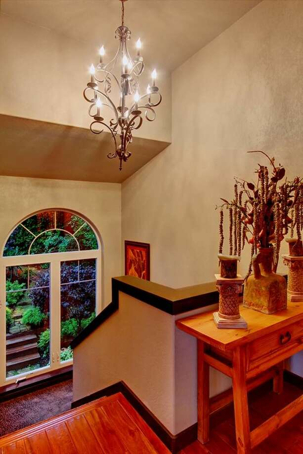 Stairway of 3307 S.W. Andover St. It's listed for $1.199 million. Photo: Courtesy Adam E. Cobb, Windermere Real Estate