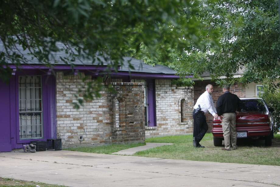 Police are investigating a report that four people were being held against their will at a home in north Houston Friday morning, July 19, 2013. The incident occurred about 8:30 a.m. at 8646 White Castle near Old Ledge, according to the Houston Police Department.