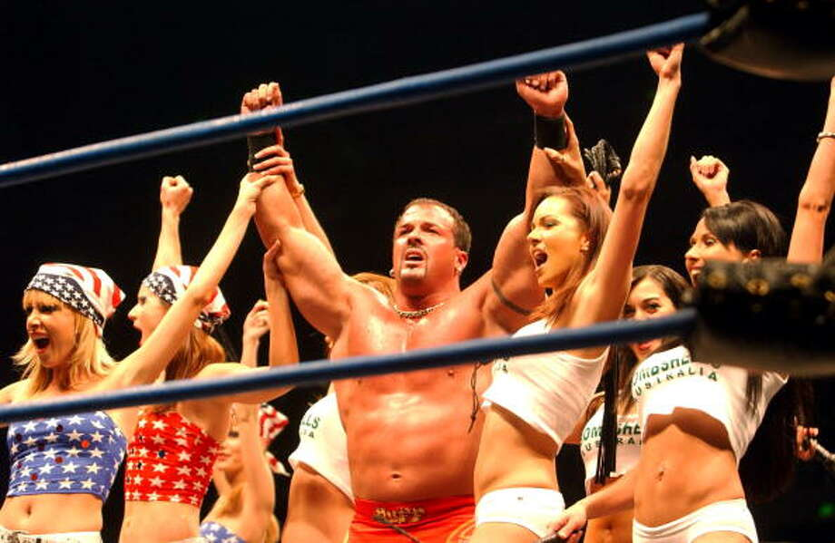 "Marcus ""Buff"" Bagwell was charged with a DUI in 2004. Photo: Chris McGrath, Getty Images / Getty Images AsiaPac"