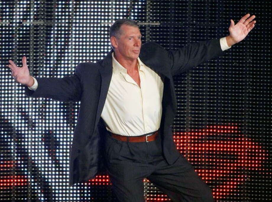 Vince McMahon was charged and acquitted of distribution of steroids in 1993. Photo: Ethan Miller, Getty Images / 2009 Getty Images