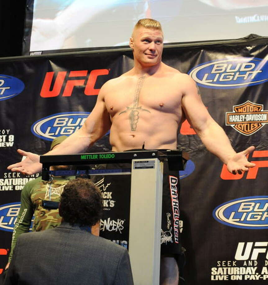 Brock Lesnar was charged with possession of steroids in 2001. Photo: Jon Kopaloff, FilmMagic / 2008 Jon Kopaloff