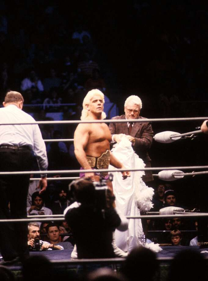 Ric Flair was charged with road rage in 2005 and failure to pay spousal support in 2013.