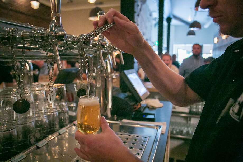 Mikkeller Bar in San Francisco is prepped for Beer Week. Photo: John Storey, Special To The Chronicle