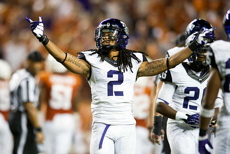 CB - Jason Verrett, TCU, 5-10, 176, Sr., Fairfield, Calif. (Rodriguez/Santa Rosa J.C.) Photo: Cooper Neill / 2012 Getty Images