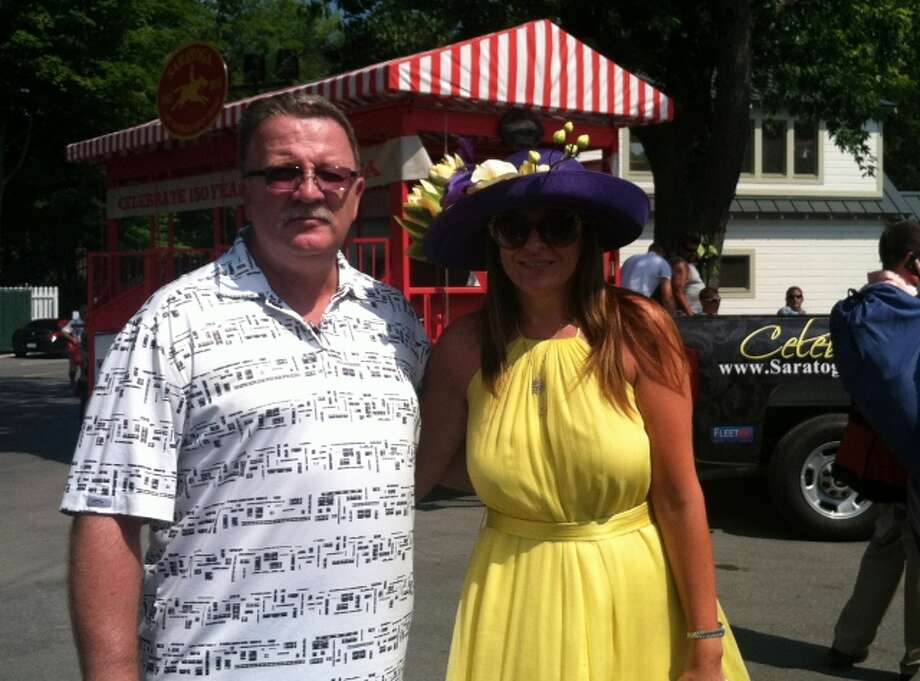 Were you Seen on Opening Day of the 150th season of thoroughbred racing at the Saratoga Race Course in Saratoga Springs on Friday, July 19, 2013? Photo: Emily Ingersoll