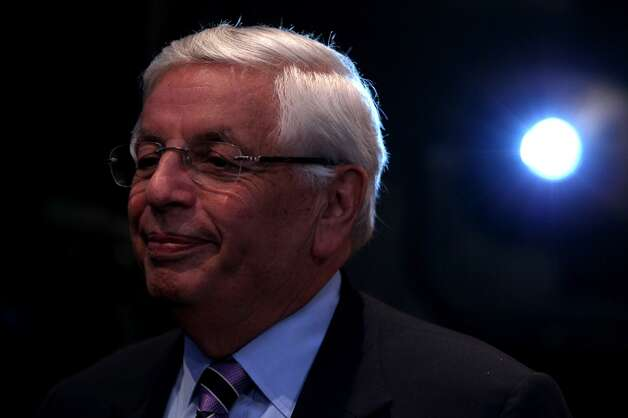 July 18, 2013: Outgoing NBA Commissioner David Stern says he will ''enjoy watching'' Seattle's bid for an NBA team in the next few years, as Deputy Commissioner Adam Silver takes over Stern's job in February 2014. However, Las Vegas emerges as another top city into which the NBA is interested in expanding.  Photo: Mike Stobe, Getty Images