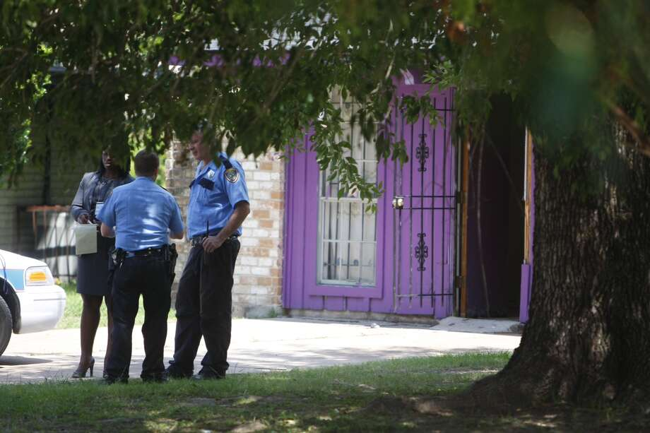 Police are investigating a report that four people were being held against their will at a home in north Houston Friday morning. The incident occurred about 8:30 a.m. at 8646 White Castle near Old Ledge, according to the Houston Police Department. Police said officers were dispatched to the scene on a welfare check after a someone called 911 and said four people were being held at the home against their will. Details are sketchy. It's unclear how long the people had been at the home or if any suspects were in custody. Officers are trying to piece together what happened. Police are investigating a report that four people were being held against their will at a home in north Houston Friday morning.  Cody Duty / Chronicle Photo: Cody Duty