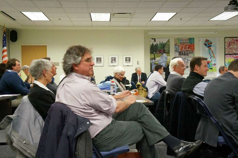 The Representative Town Meeting will remain at 10 districts and 50 members for the time being after a judge ruled the adoption of a redistricting plan in May violated the town charter. Photo: Genevieve Reilly / Fairfield Citizen