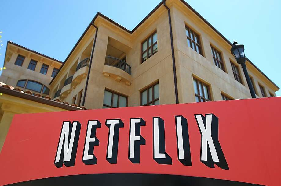 The stock for Netflix has more than tripled in value in the past year. Photo: Justin Sullivan, Getty Images