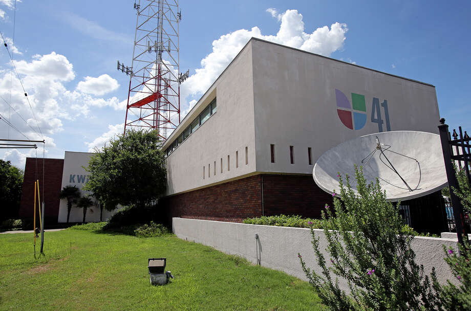 The Univision building will be demolished to make room for an apartment building. Photo: TOM REEL, San Antonio Express-News / San Antonio Express-News