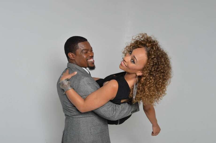 Travis Pratt and his fiancee, Elvira van Horn. Photo: Wiz Art Studio Photography