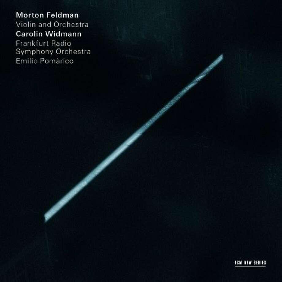 CD cover: Morton Feldman Photo: ECM New Series
