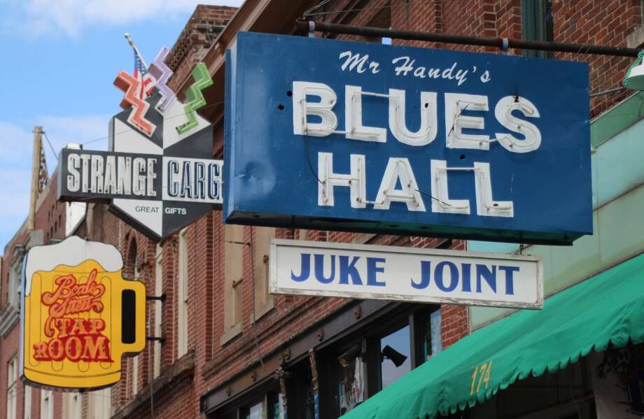 """""""Mr. Handy"""" was early jazz bandleader W.C. Handy, responsible for many jazz standards, including """"Beale Street Blues."""" (It was Beale Avenue originally, but the city changed the named based on the popularity of the song.)"""