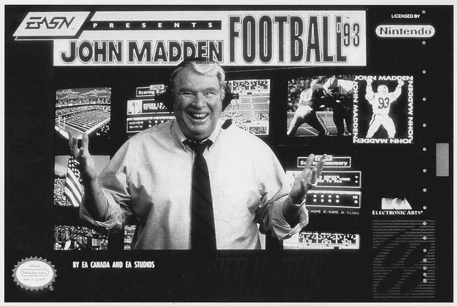 John Madden Football '93. Photo: Unknown