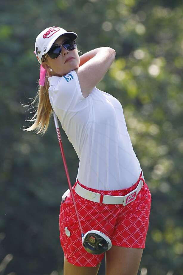 Paula Creamer is tied for the lead after two rounds of the Marathon Classic in Ohio. Photo: Hunter Martin, Getty Images