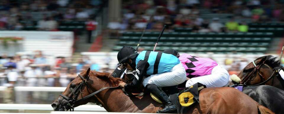 The 150 race meeting as the first race on the card moves to the finish line on opening day July 19,