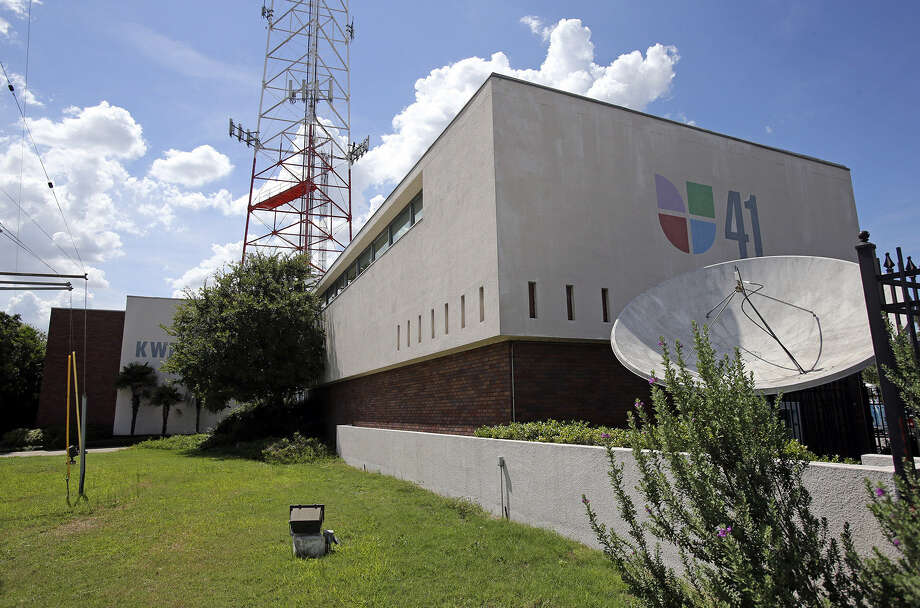 The Univision building will be demolished to make room for an apartment building. Photo: Tom Reel, San Antonio Express-News