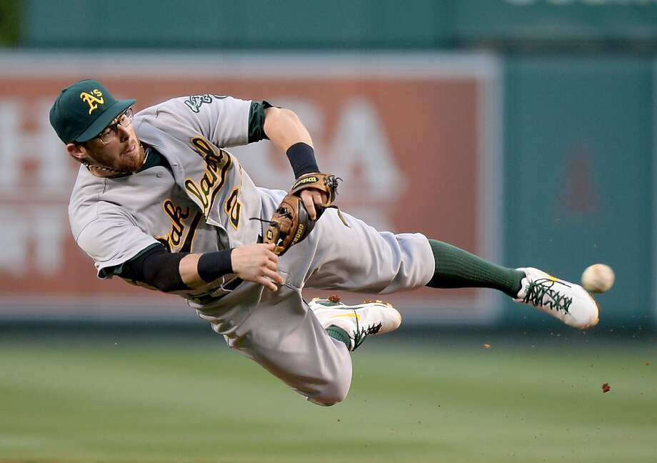Eric Sogard has risen above a long list of hopefuls to earn the second base job this season. Photo: Harry How, Getty Images