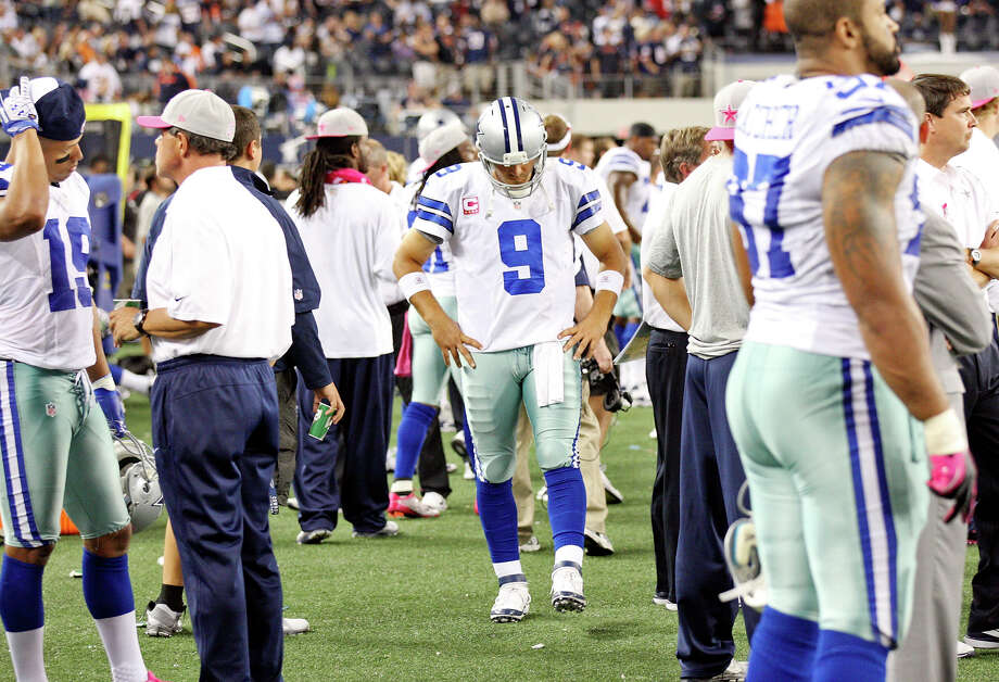Express-News staff writer Tom Orsborn examines the six young starters he believes must shine in 2013 for the Cowboys to return to the playoffs:PHOTO: The Cowboys' Tony Romo (center) walks the sidelines during second half action against the Chicago Bears on Oct. 1, 2012, at Cowboys Stadium in Arlington.Read Tom Orsborn's related column on ExpressNews.com: Season hinges on six young starters Photo: Edward A. Ornelas, San Antonio Express-News / © 2012 San Antonio Express-News