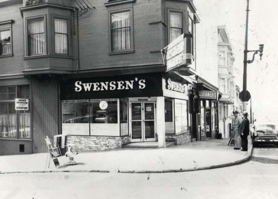 Swensen's Ice Cream shop, San Francisco. This Russian Hill ice cream shop has been around for generations. Try a chocolate-dipped cone. (1999 Hyde St.) Photo: HO