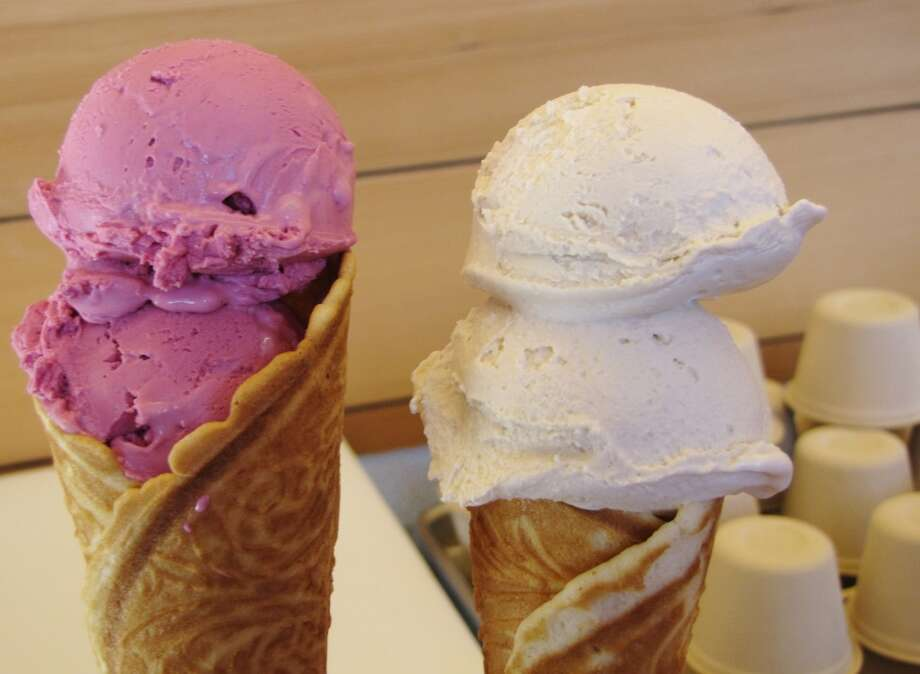 Smitten Ice Cream, Bay Area.Each scoop is made to order with a high-tech machine that uses liquid nitrogen that freezes smooth, creamy ice cream almost instantly. (432 Octavia St., S.F.; 2404 California St., S.F.; 5800 College Ave., Oakland; in Whole Foods, 4800 El Camino Real, Los Altos; 3545 Mt. Diablo Blvd., Lafayette) Photo: Stephanie Wright Hession