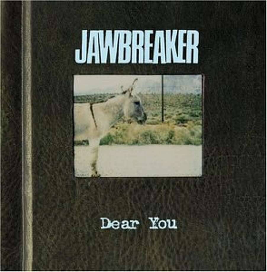 "Jawbreaker's album cover for ""Dear You"" Photo: Handout"