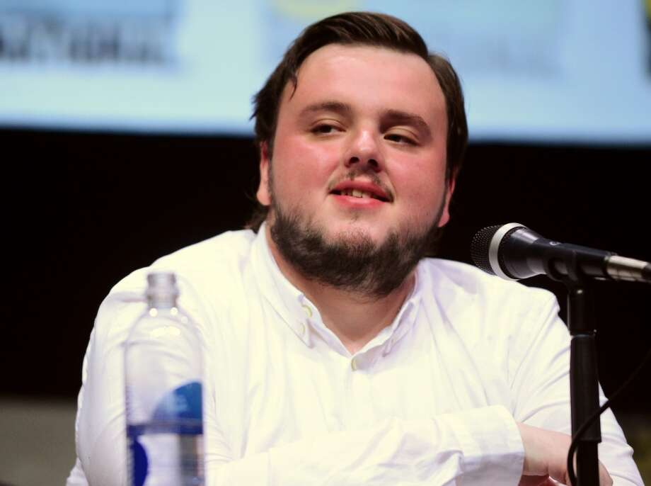 "Actor John Bradley speaks onstage during the ""Game Of Thrones"" panel during Comic-Con International 2013 at San Diego Convention Center on July 19, 2013 in San Diego, California.  (Photo by Albert L. Ortega/Getty Images)"
