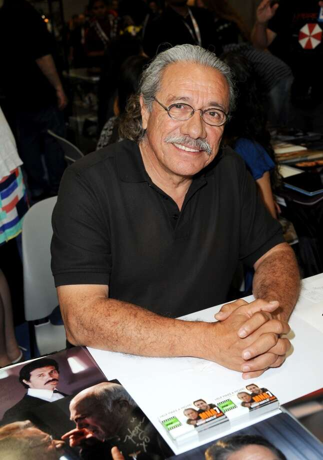 Actor Edward James Olmos during Comic-Con International at San Diego Convention Center on July 19, 2013 in San Diego, California.  (Photo by Albert L. Ortega/Getty Images)