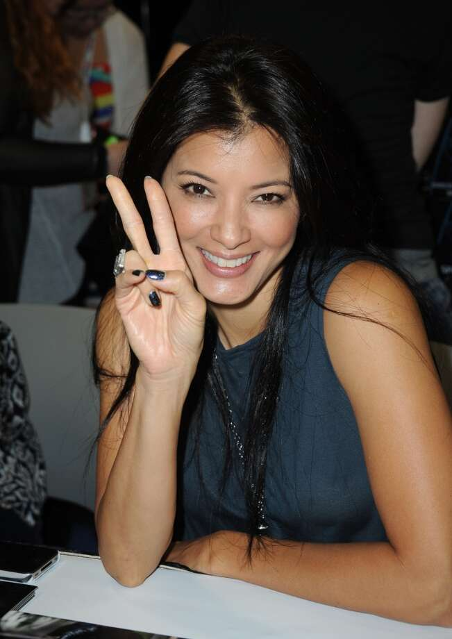 Actress Kelly Hu during Comic-Con International at San Diego Convention Center on July 19, 2013 in San Diego, California.  (Photo by Albert L. Ortega/Getty Images)