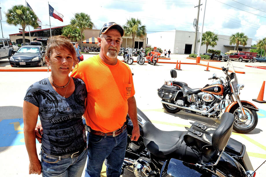 Our cameras were at the Cowboy Harley Lot Party on Saturday, July 20, 2013.  Did we see you there? Photo taken: Randy Edwards/The Enterprise
