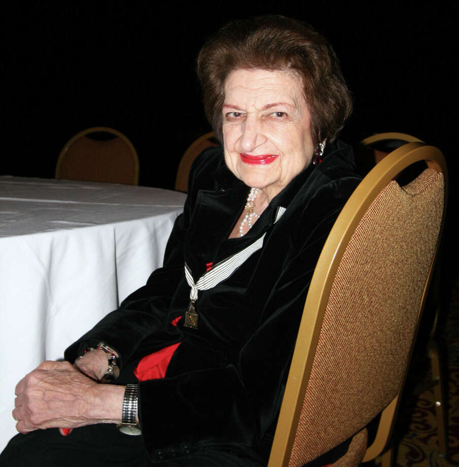 Helen Thomas. Photo: Diana Quinn, CBS Photo: CBS