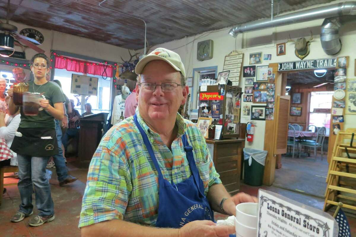 Jerry House, 67, decided he wanted something more than a rocking-chair retirement. Now he runs a steakhouse in little Leona.