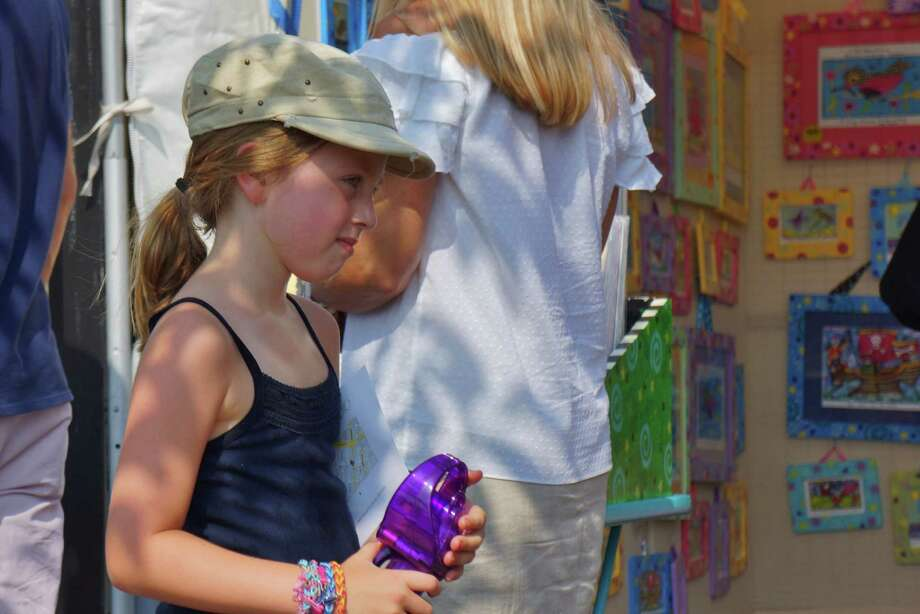 Were you SEEN at the Westport Art Festival? 7/20/2013 Photo: Todd Tracy/ Hearst Connecticut Media Group