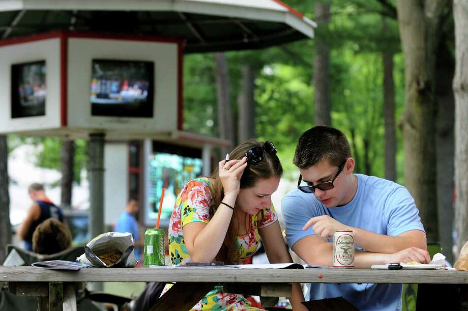 Think you know Saratoga? Not so fast. The track has been at the epicenter of a vast amount of history over the past 150 years. There are interesting and amazing facts here both large and small. So put on your thinking cap and celebrate the track's sesquicentennnial with this trivia test. (Photo: Cindy Schultz / Times Union) Photo: Cindy Schultz / 10023141B