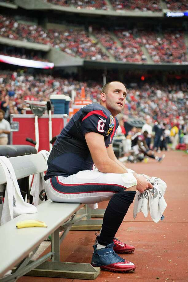 Texans quarterback Matt Schaub went 20-8 over the past two seasons, including the playoffs. Photo: Smiley N. Pool, Staff / © 2012  Houston Chronicle