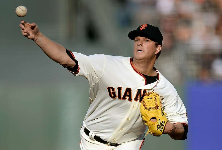Matt Cain ended a five-game winless streak with a victory over Arizona. Photo: Thearon W. Henderson, Getty Images