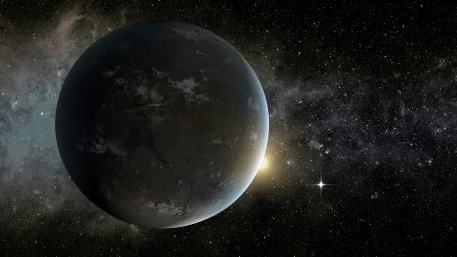 This artist rendering released by NASA shows a planet outside the solar system that was detected by NASA's Kepler spacecraft. The mission to search for exoplanets is on hold as engineers try to fix the spacecraft's wheels that control its position in space. The recovery attempt began Thursday, July 18, 2013 and will last for a week. Photo: AP