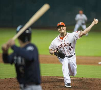 July 20: Mariners 4, Astros 2 An early lead wasn't enough to put away Seattle. The Mariners had just one hit in a bizarre win at Minute Maid Park.  Record: 33-63. Photo: Smiley N. Pool, Houston Chronicle