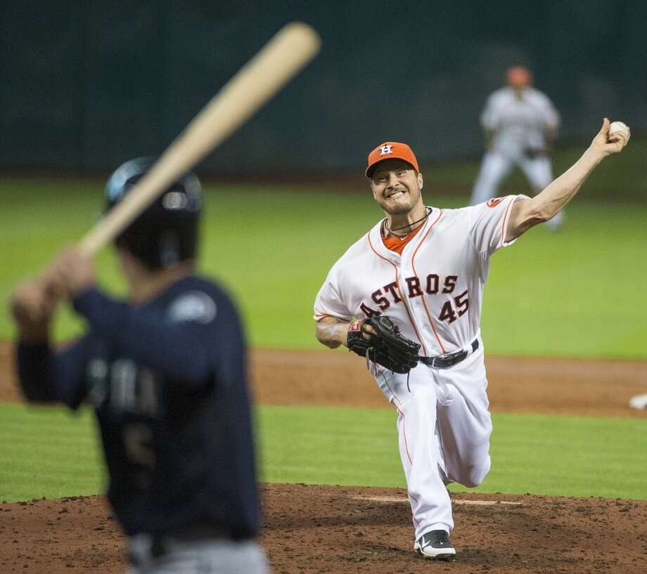 July 20: Mariners 4, Astros 2An early lead wasn't enough to put away Seattle. The Mariners had just one hit in a bizarre win at Minute Maid Park.  Record: 33-63. Photo: Smiley N. Pool, Houston Chronicle