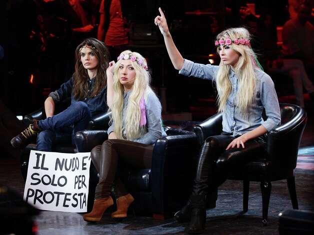Femen Protest Fashion Show | www.imgkid.com - The Image ...