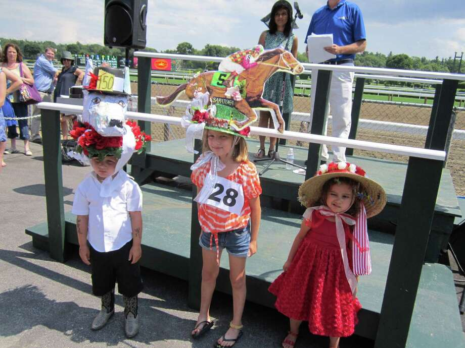 Were you Seen celebrating Hat Day at the Saratoga Race Course in Saratoga Springs on Sunday, July 21, 2013? Photo: Phoebe Lasky