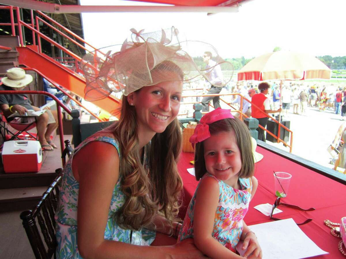 Were you Seen celebrating Hat Day at the Saratoga Race Course in Saratoga Springs on Sunday, July 21, 2013?