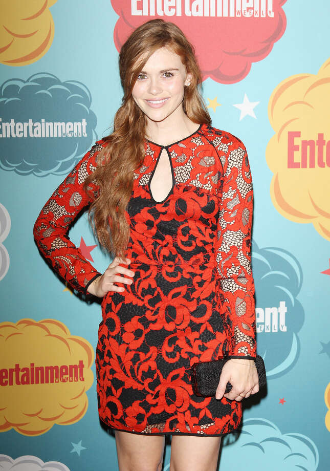 Holland Roden arrives at the Entertainment Weekly's Annual Comic-Con celebration held at Float at Hard Rock Hotel San Diego on July 20, 2013 in San Diego. Photo: Michael Tran, FilmMagic / Getty Images